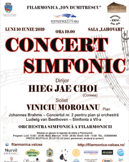 Concert Simfonic Orchestra simfonică a filarmonicii