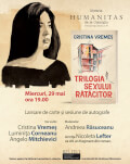 Un debut surprinzător – întâlnire cu scriitoarea Cristina Vremeș și romanul Trilogia sexului rătăcitor