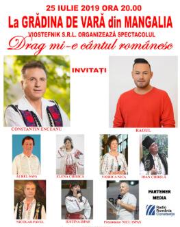 Drag mi-e cântul românesc Invitați: Elena Chirică, Constantin Enceanu, Raoul, Aurel Sava, Iustina Ispas, Viorica Nica, Ioan Chrilă, Nicolae Pavel