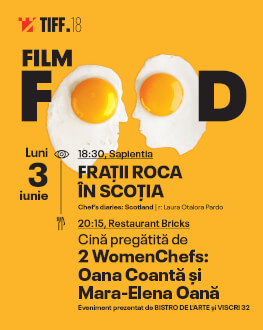Film Food: Chef's Diaries: Scotland Dinner cooked by 2 Women Chefs