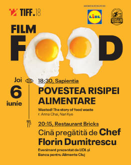 Film Food: Wasted Dinner cooked by Chef Florin Dumitrescu