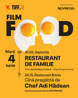Film Food: A God in Each Lentil Dinner cooked by Chef Adi Hădean