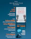 Dezbatere de știință: Inteligența artificială, viața 3.0 și transumanism. Pornind de la volumele Viața 3.0 de Max Tegmark și Pot face roboții dragoste? de Laurent Alexandre și Jean-Michel Besnier