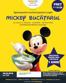 Mickey Bucatarul Huedin Spectacol Muzical de Mascote si Personaje