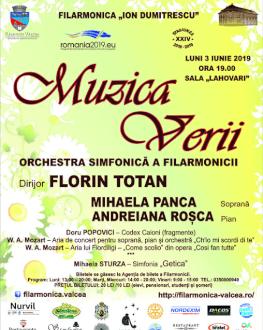 MUZICA VERII Orchestra Simfonică a Filarmonicii