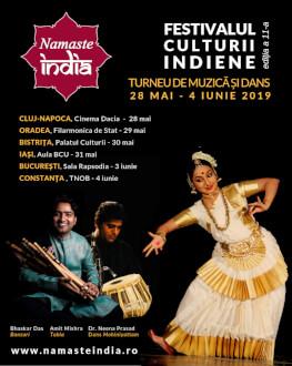 Festivalul Namaste India, ediţia a XI-a, la Cluj-Napoca Spectacol de muzică şi dans
