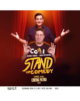 Stand-up comedy cu George Tănase si Radu Pietreanu