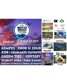Water Music Festival Ceahlau, 2019 Festival de muzica si sporturi de apa