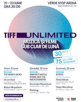 TIFF Unlimited Muzică și filme sub clar de lună