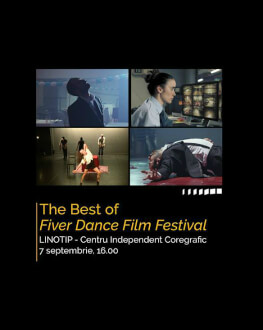 The Best of Fiver Dance Film Festival Bucharest International Dance Film Festival BIDFF 2019