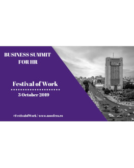 Business Summit for HR III Future of Skills. Festival of Work