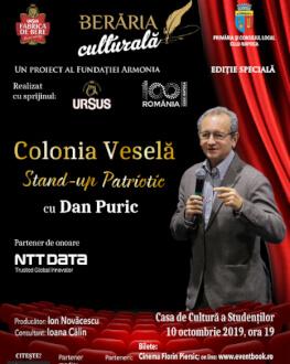 Colonia Veselă Stand-up Patriotic cu Dan Puric