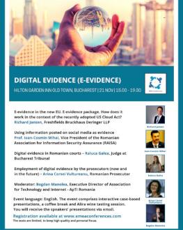 E-evidence (Digital evidence)