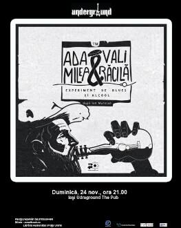 Experiment de Blues şi Alcool cu Ada Milea şi Vali Răcilă