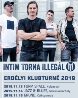 Intim Torna Illegál + Afterparty