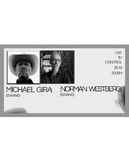 Michael Gira + Norman Westberg Live