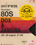 Silent Party | Super Nostalgia - 80's. With Dox & Zamora