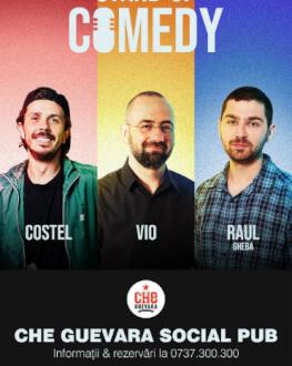 Stand Up Comedy cu Costel, Vio si Raul Gheba