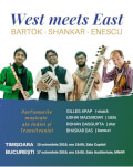 West meets East @ BUCUREȘTI | Bartók, Shankar, Enescu Gilles APAP, Udhai MAZUMDAR, Rohan DASGUPTA, Bhaskar DAS