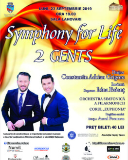 2 GENTS – SYMPHONY FOR LIFE