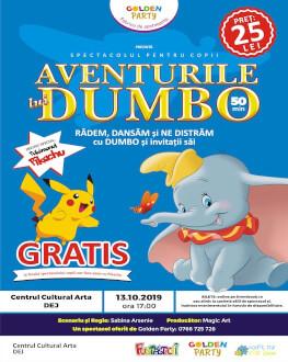 Aventurile lui DUMBO la Dej Spectacol pentru copii