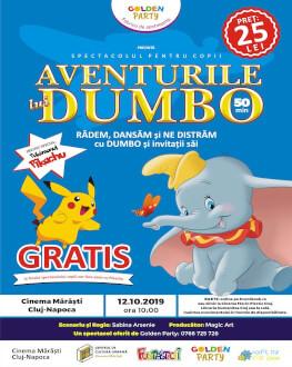 Aventurile lui DUMBO Spectacol pentru copii