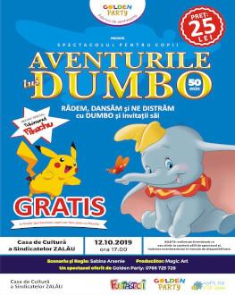 Aventurile lui DUMBO la Zalău Spectacol pentru copii