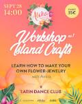Atelier bijuterii florale handmade: Aloha greeting & Lei making Bucharest Aloha Dance Fest 2019