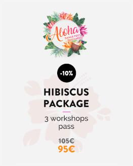 Pachet Hibiscus - 3 ateliere (la alegere: sâmbătă & duminică) Bucharest Aloha Dance Fest 2019