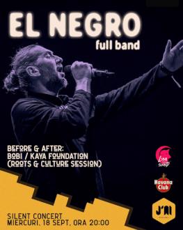 El Negro (full band) - J'ai Silent Concerts