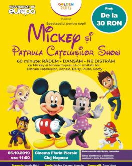 Mickey si Patrula Catelusilor Show Spectacol muzical de mascote si personaje