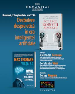 Probleme de etică în era inteligenței artificiale - dezbatere de știință