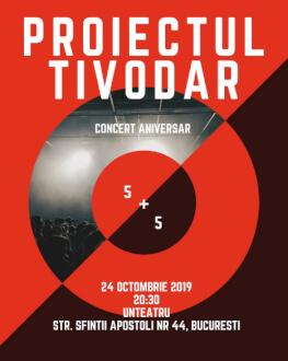 Proiectul Tivodar - concert aniversar