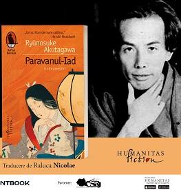 """Seară japoneză dedicată volumului """"Paravanul-Iad și alte povestiri"""" de Ryūnosuke Akutagawa Moment de dans tradițional japonez"""