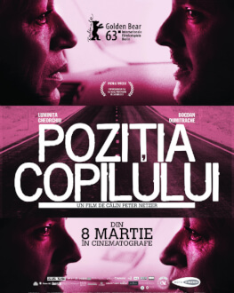 Poziția copilului Un secol de cinema românesc la București