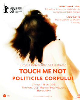 Dezbaterea Eveniment TOUCH ME NOT - POLITICILE CORPULUI @ Astra Film Festival 2019