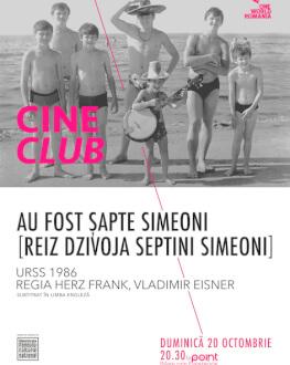 Au fost șapte Simeoni (Reiz dzivoja septini Simeoni) Cineclub One World Romania