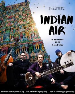 Concert Indian Air Klaus Falschlunger (sitar), Clemens Rofner (bass-ukulele),Tobias Steinberger (bendir / kanjira)