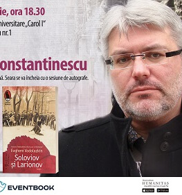 Evgheni Vodolazkin în dialog cu Marius Constantinescu
