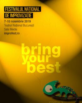 Abonament 9 noiembrie Festivalul Național de Improvizație !MPRO 7