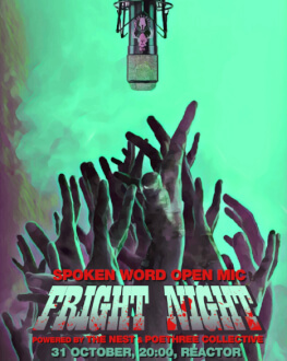 Fright Night. Spoken Word - Open Mic