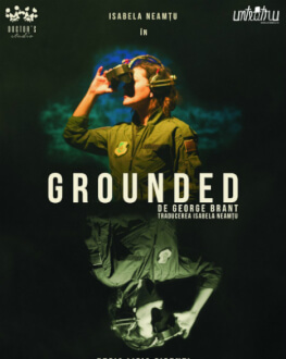 Grounded - spectacol musafir de George Brant