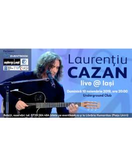Laurentiu Cazan live
