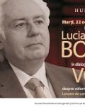 """Lucian Boia în dialog cu Marian Voicu despre """"Întrebări fără răspuns (sau cu prea multe răspunsuri)"""" despre marile întrebări pe care oamenii și le-au pus generație după generație, marți, 22 oct., ora 19, la Humanitas Cișmigiu"""