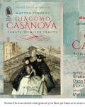"""Seară italiană dedicată romanului """"Giacomo Casanova. Sonata inimilor frânte"""" de Matteo Strukul Lansare de carte și întâlnire prin Skype cu autorul"""
