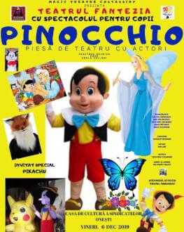 Pinocchio la Onești Piesă de teatru cu actori