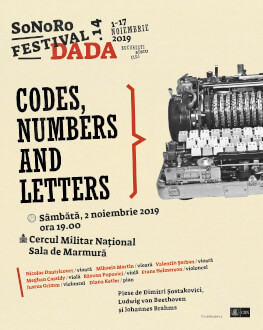 CODES, NUMBERS AND LETTERS SoNoRo Festival.14