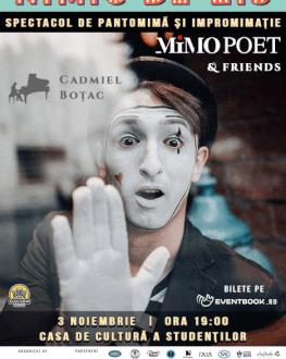 Spectacol de pantomimă cu Mimo Poetul
