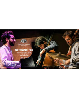 Tarek Yamani Trio Transilvania Jazz Festival 2019