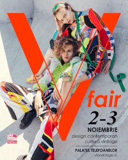 V fair #23 Târg de design contemporan și cultură vintage